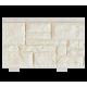 Цокольный сайдинг коллекции Крымский берег слоновая кость