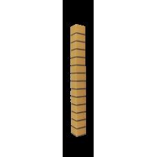 Наружный угол коллекция Славянка кирпич желтый