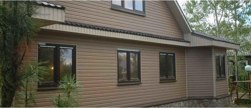 Виниловый сайдинг - практичный материал для наружной отделки домов