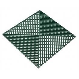 Газонная решетка с дополнительным обрамлением зеленая
