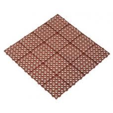 Универсальная газонная решетка коричневая