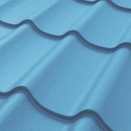 Металлочерепица Дельта Арселор 5005 синяя РЕМА 0,5