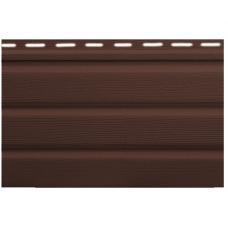Карнизная подшивка Софит коричневая