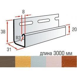 Планка J для фасадных панелей