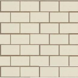 Фасадная (цокольная) панель коллекция Неаполитанский камень белый