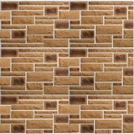 Фасадная (цокольная) панель коллекция Пражский камень 02
