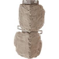 Наружный угол коллекции Бутовый камень Нормандский