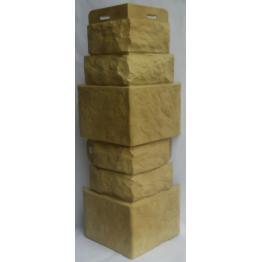 Наружный угол коллекции Фасадная плитка Травертин