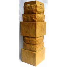 Наружный угол коллекции Фасадная плитка Златолит