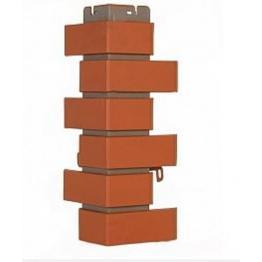 Наружный угол коллекции Клинкерный кирпич красный
