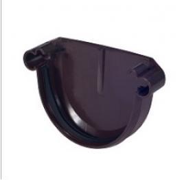 Заглушка Элит 125 мм коричневая