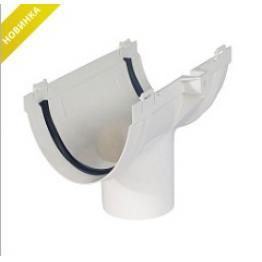 Воронка водосточная 74 мм Стандарт белая